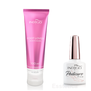 Indigo PROMO Pedicure Base 7 ml + Foot Lover 100 ml