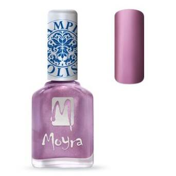 Moyra Lakier do stempli 10 Metal Rose 12 ml