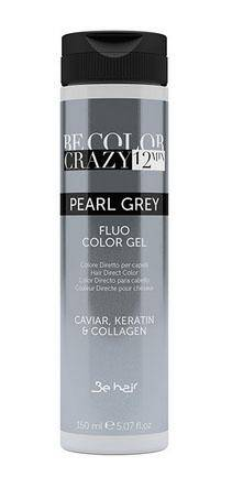 Be Color Crazy toner w żelu Pearl Grey