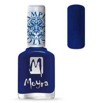 Moyra Lakier do stempli 05 - Blue 12 ml