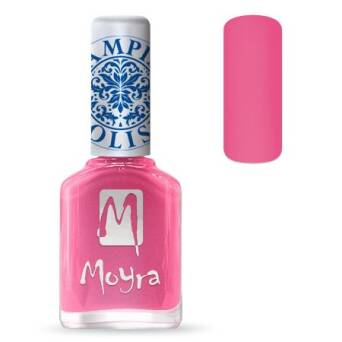 Moyra Lakier do stempli 01 - Pink 12 ml