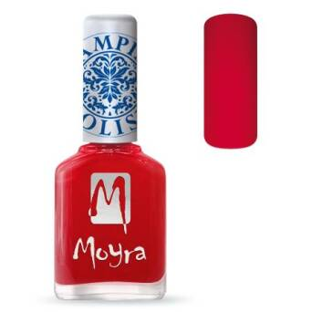 Moyra Lakier do stempli 02 - Red 12 ml