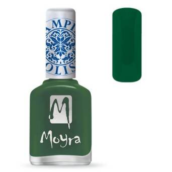 Moyra Lakier do stempli 14 - Dark Green 12 ml