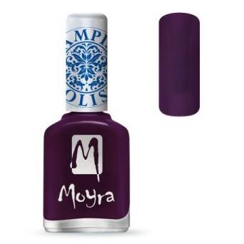 Moyra Lakier do stempli 04 Purple 12 ml