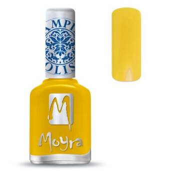 Moyra Lakier do stempli 12 - Yellow 12 ml